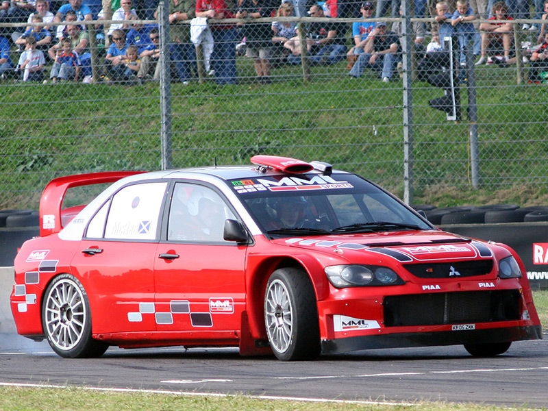 Selection of as-new rally cars for sale by MML Sports