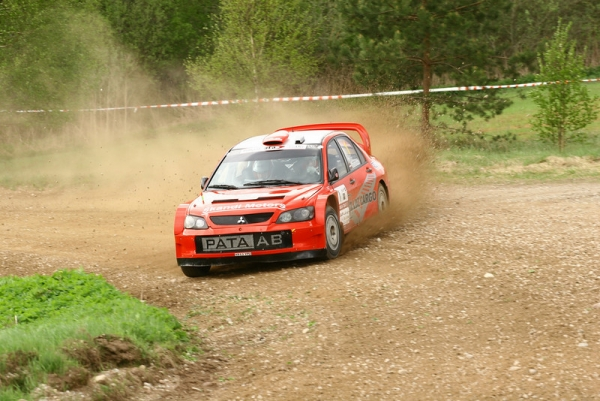 Vasaraudzis dominates Rally Talsi in MML Sports' Lancer WRCar