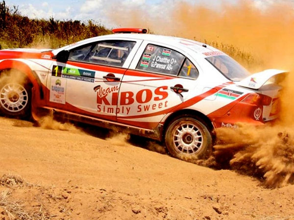 Three MML Sports cars in top four at Eldoret Rally
