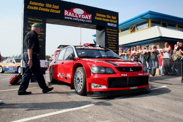 MML Sports to show EvoX and WRCar at RallyDay