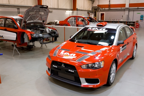 MML Sports unveils Group N Mitsubishi Lancer EvoX rally car