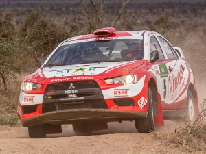 Win for Team Kibos and MML Sports on Safari Rally