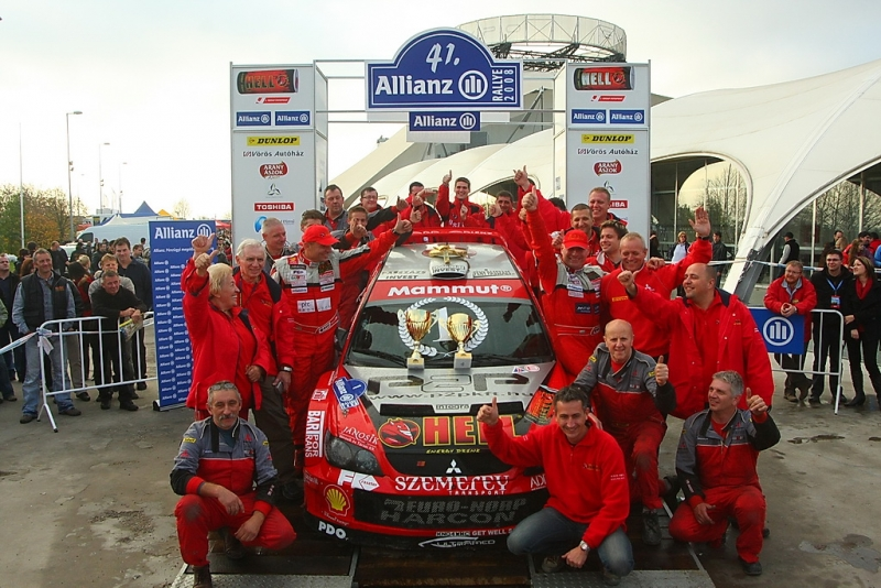 Spiczmuller wins the 2008 Hungarian Rally Championship with MML